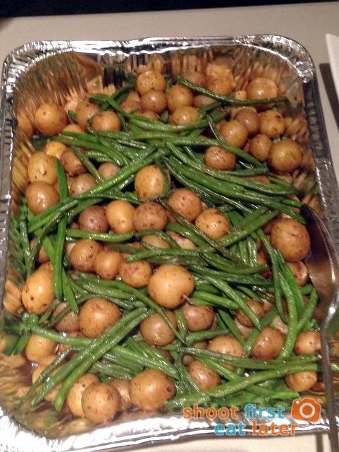 haricot vert & new potatoes