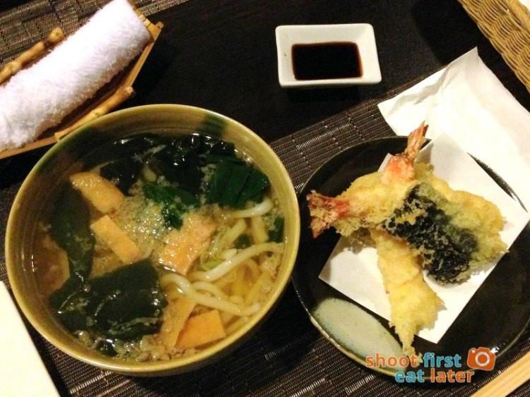 Toki Japanese REstaurant- tempura udon P400
