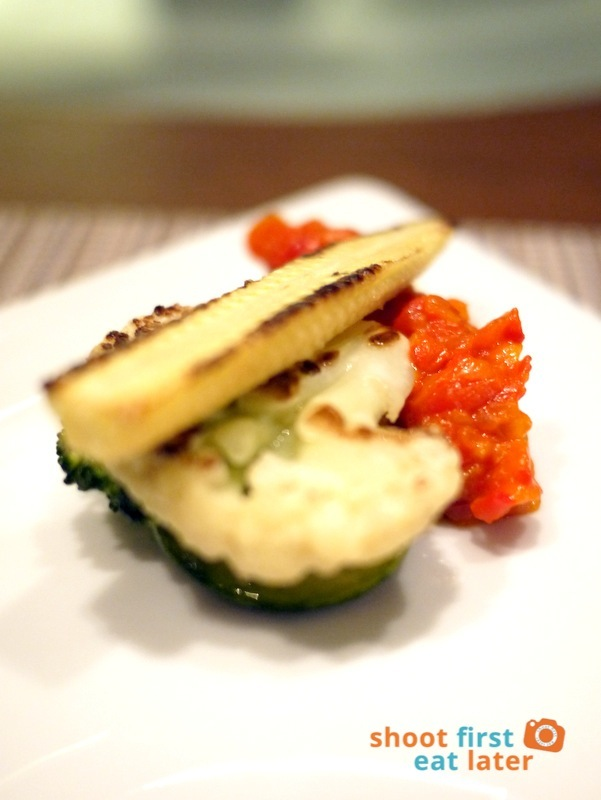 Allium Restaurant - Market Vegetables, Piperade