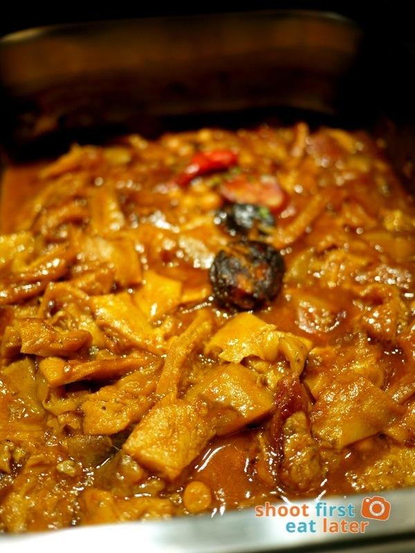 Alba Restaurante Español- Callos a la Madrileña (stewed tripe in tomato sauce)