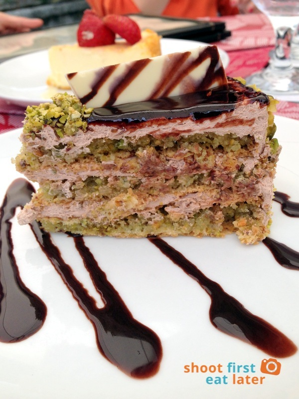 Le Chef at The Manor, Baguio- Chocolate Pistachio Rival