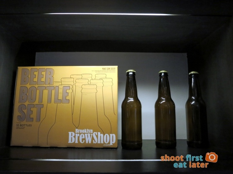 Todd English Food Hall Manila- Beer Bottle Set