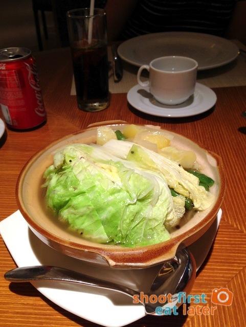 Sun Coral Cafe Hamilo Coast- Bulalo (beef shank & vegetable soup)