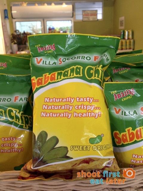 Connie's Kitchen Deli - Villa Socorro Farm Sabanana Chips P40