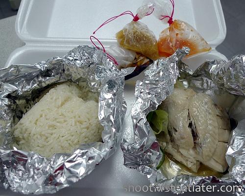 Nasi Lemak's hainanese chicken-1