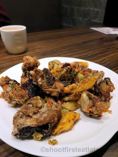 deep fried duck meat with salt HK$78-001