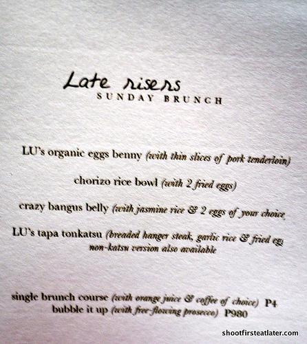 Lu menu-1