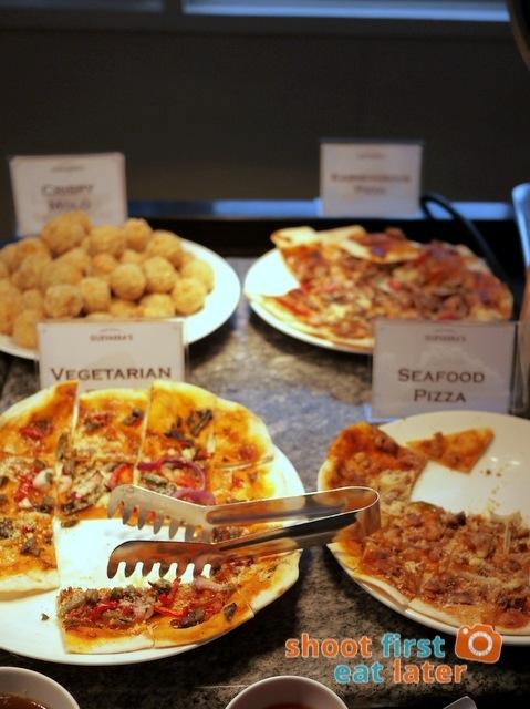 Chef Laudico Guevarra's- pizza
