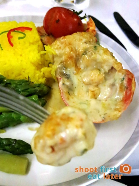Singapore Airline Book the Cook - lobster thermidor-001