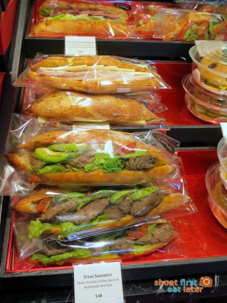 Le Salon de Thé de Joel Robuchon (Elements HK)- steak sandwich HK$88