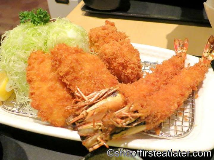 assorted seafood katsu set HK$178-001