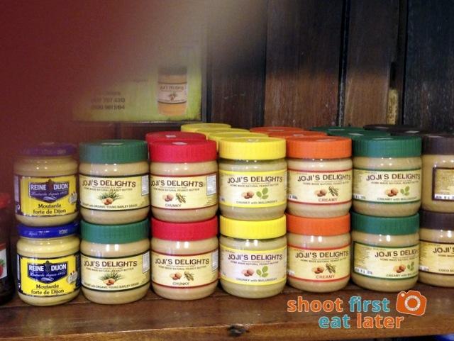 Connie's Kitchen Deli - Reine Dijon mustard, Joji's Delights natural peanut butter