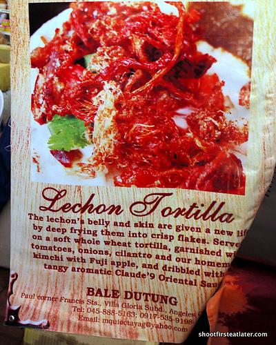 Bale Dutung Lechon Tortilla