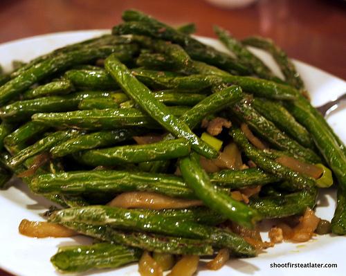 String Bean Szechuan Style