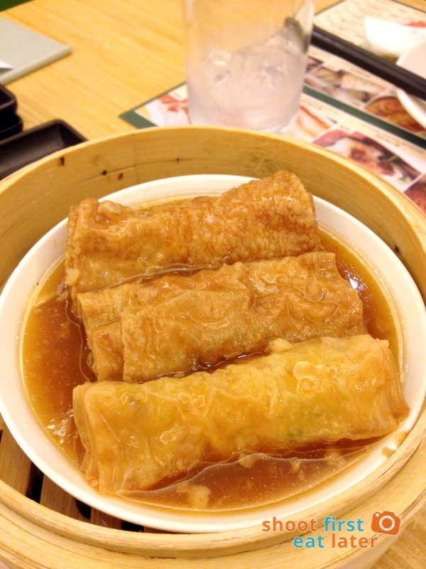 Tim Ho Wan Manila- Beancurd Skin Roll with Pork & Shrimp P120