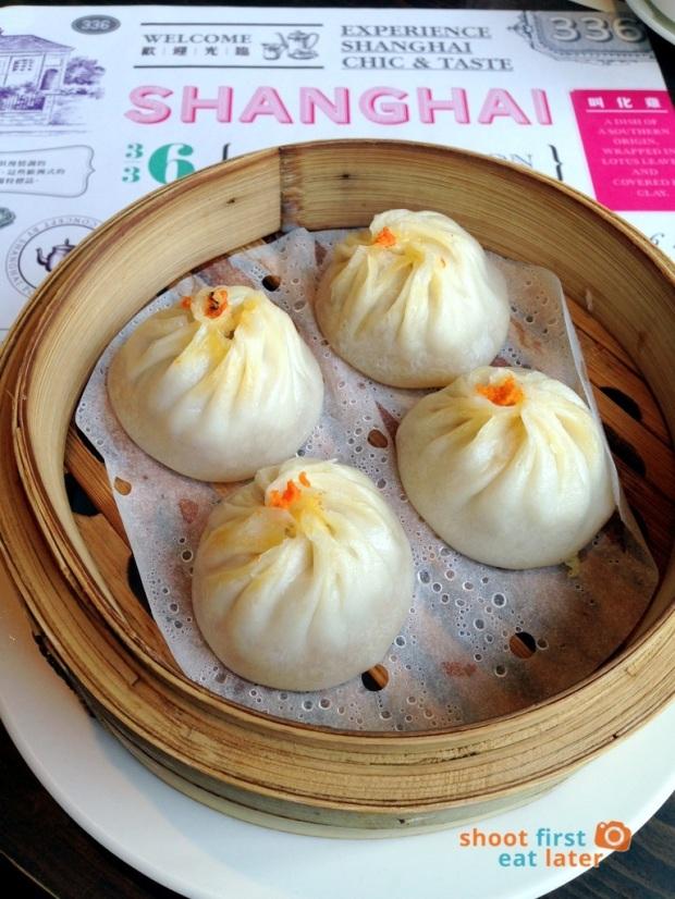 Shanghai Popo- crab xiao long bao