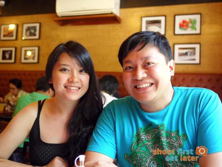 Gino's Brick Oven Pizza (Salcedo branch)- Mary and Thanis Lim