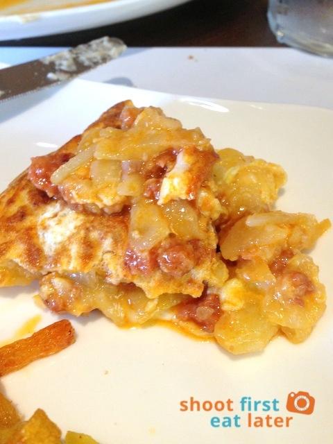 Donosti- tortilla con chorizo