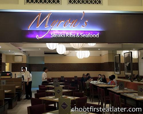 Myron's steaks ribs & seafood