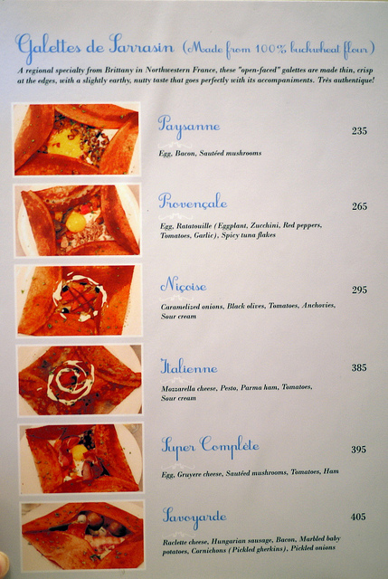 La Creperie menu-2
