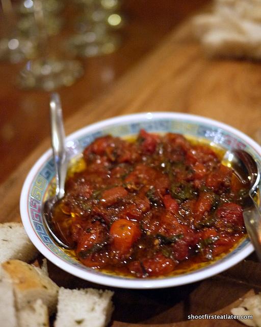semi-cured tomatoes