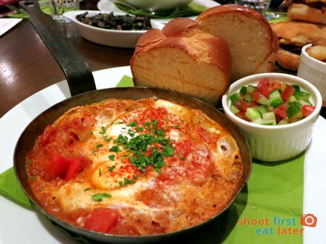 Tunisian breakfast S$19