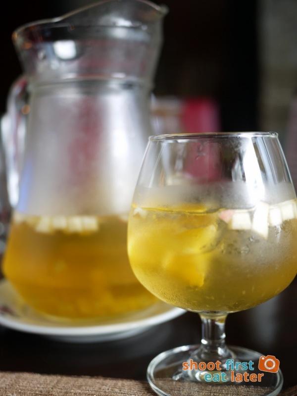 Alba Restaurante Español- White Sangria