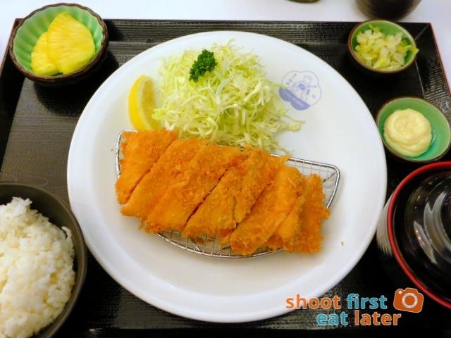 Ginza Bairin Philippines- salmon fry set