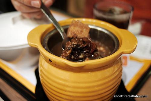 deep boiled soup
