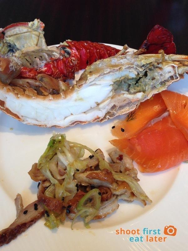 Marco Polo Hotel Ortigas Cucina Restuarant Buffet- lobster, duck salad, salmon