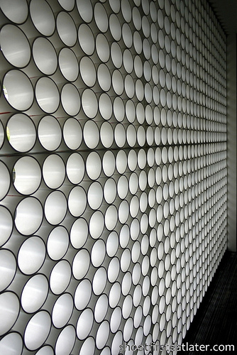 pvc pipes wall