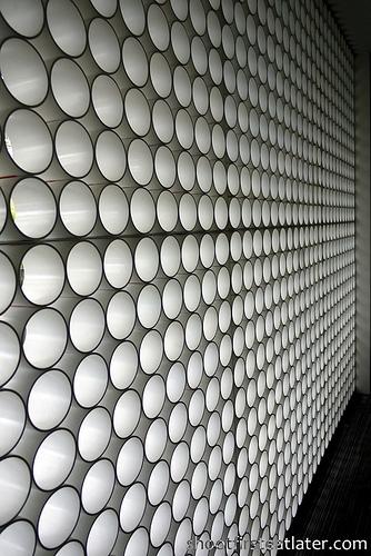 pvc pipes wall
