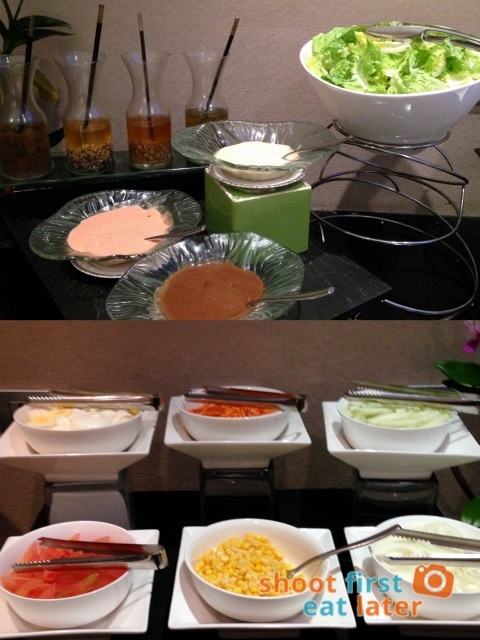Oakroom Restaurant and Bar- salad bar