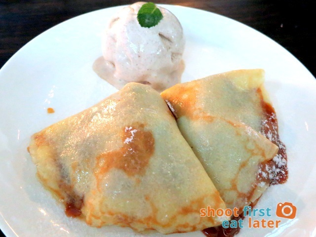 Gaucho Cocina Y Vinos Argentinos- dulce de leches crepes with nuts & cinnamon ice cream P190