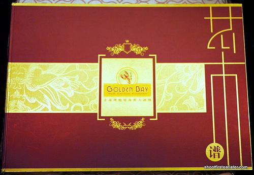 Golden Bay big menu