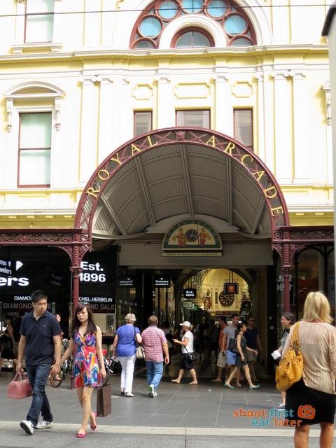 Royal Arcade Bourke Street