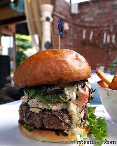 Chef Katsu's original California roll burger-1