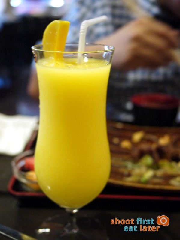 Toki Japanese REstaurant- mango shake P180