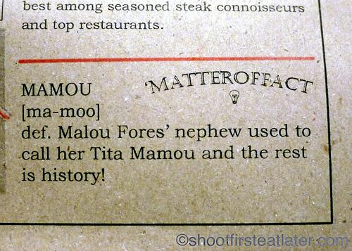 Mamou, Malou Fores-1