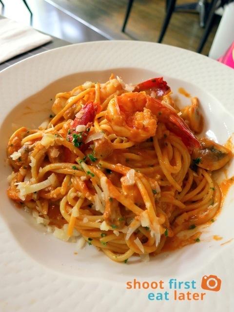 BISCAY Prawn bisque pasta