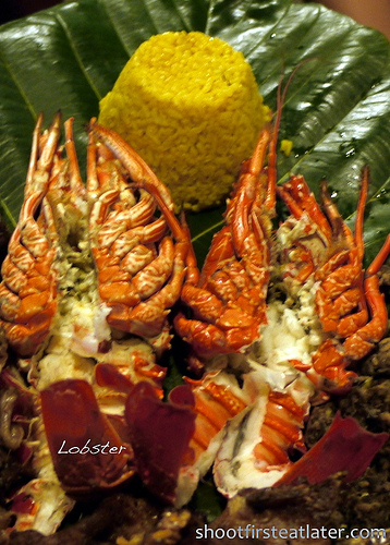 Pension Ivatan platter- lobster
