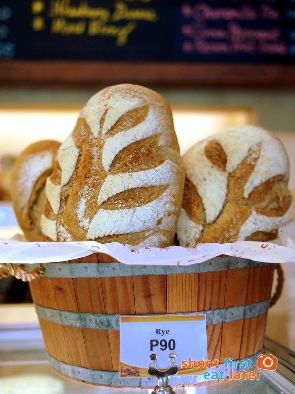 Lucca Bakery (SM Mega Fashion Hall)- Rye Bread P90