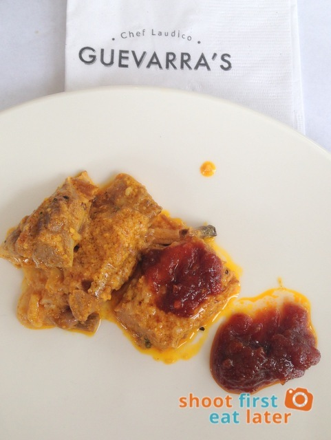 Chef Laudico Guevarra's- Angus kare kare