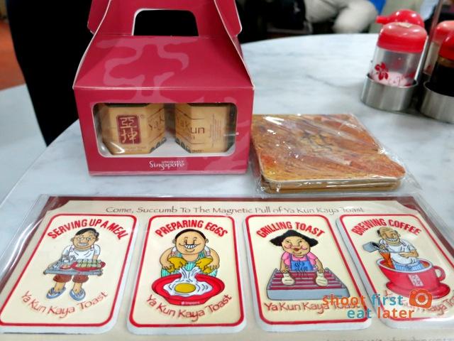 Ya Kun Kaya Toast- kaya jam. toast memo pad & magnets