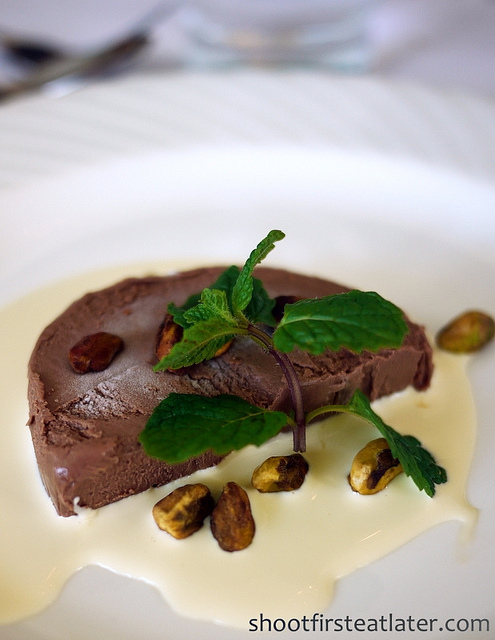 Antonio's Tagaytay - Felchin Maracaibo chocolate terrine