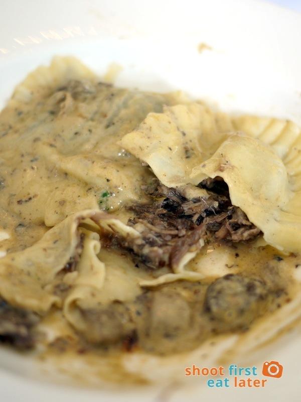 Antonio's Tagaytay- Minted Veal Cheeks & Goat CheeseRavioli with Creamed Tartufo P1,450 -001