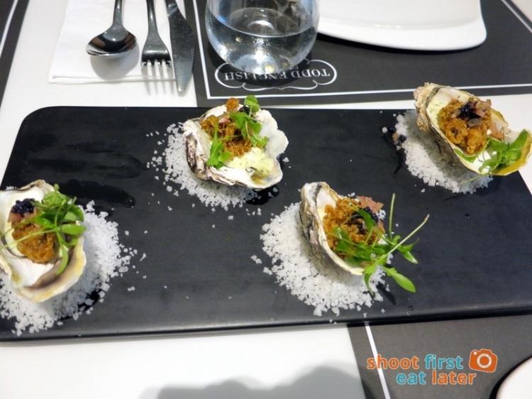 Todd English Food Hall Manila- Fried Oyster P320