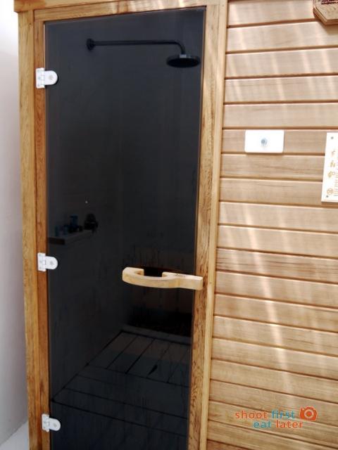 The Balesin Spa sauna