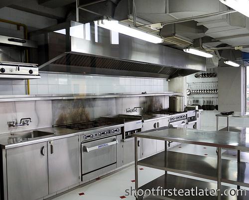 First Gourmet Academy's kitchen