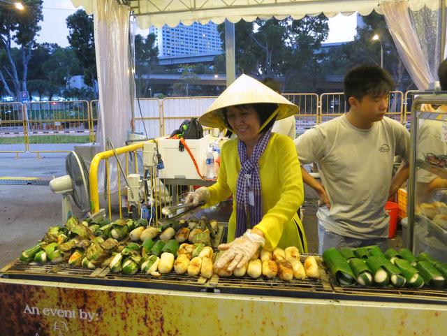 Vietnam's nam bo sticky rice banana